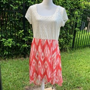 Lily rose High Low Modest Dress Size L